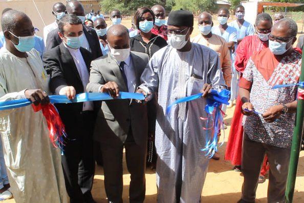 Inaugurazione del laboratorio Covid del Magis in Ciad