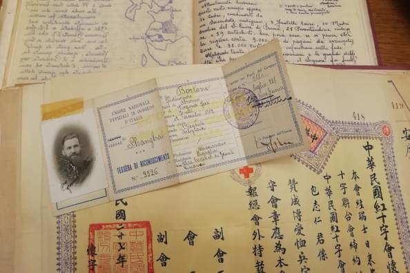 Particolarte di documenti conservati presso l'Archivio Storico della Provincia Euro-Mediterranea dei gesuiti