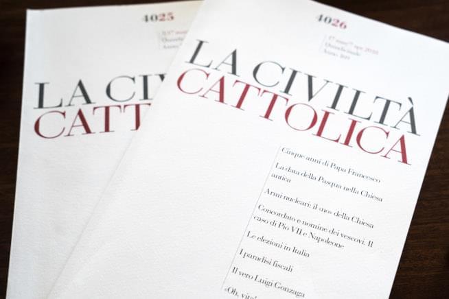 Numeri della rivista La Civiltà Cattolica dei padri gesuiti