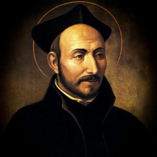 Ritratto di Ignazio di Loyola, fondatore della Compagnia di Gesù (gesuiti)