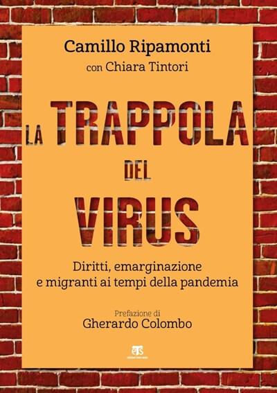 Copertina del libro La trappola del virus di padre Camillo Ripamonti, gesuita