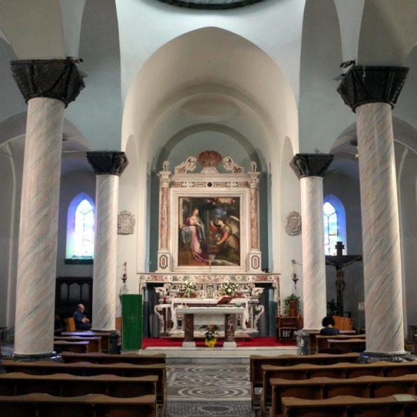 Interno della Chiesa degli Ottimati a Reggio Calabria