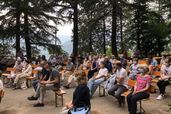 Celebrazione anno ignaziano a villa sant'Ignazio a Trento