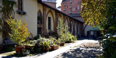 Residenza dei gesuiti di Villapizzone a Milano - Cortile esterno