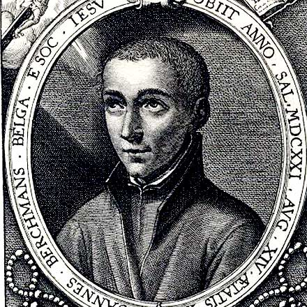 Portrait of Saint John Berchmans (1599-1621)